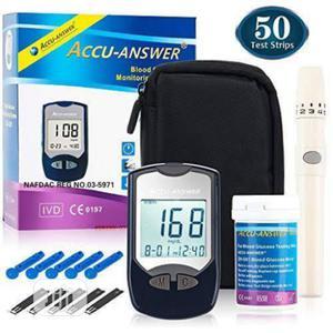 Accu Answer Glucometer Glucose Sugar Level Machine Tester | Medical Supplies & Equipment for sale in Lagos State, Ikeja
