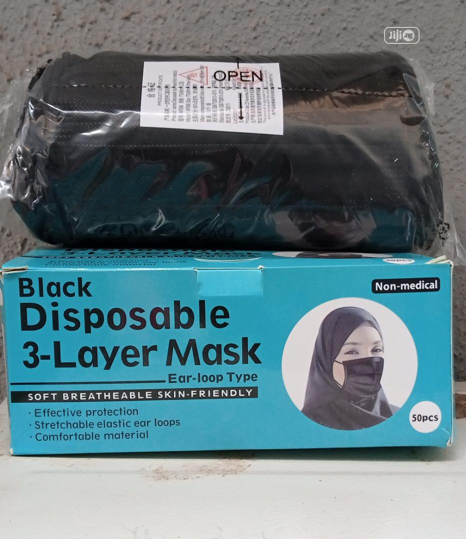 Archive: Imported Black Facemask Nose Mask