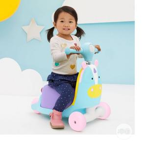 Skip Hop Kids 3-In-1 Ride on Scooter and Wagon Toy - Unicorn | Toys for sale in Lagos State, Ajah