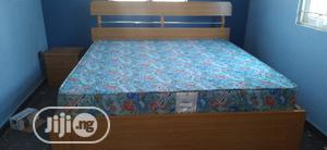 Nice Quality 6x6ft Hdf Bed Frame for Sale | Furniture for sale in Edo State, Benin City