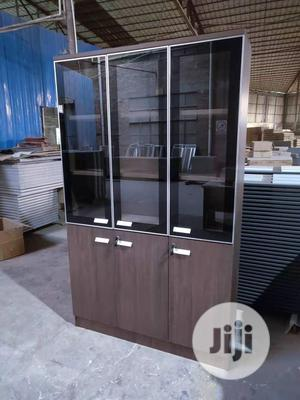 Higher Quality Office Shelve With Transparant Glass   Furniture for sale in Lagos State, Ojo