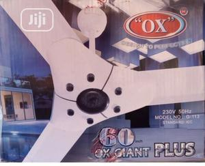 """Ox Plus Giant 60"""" Ceiling Fan 