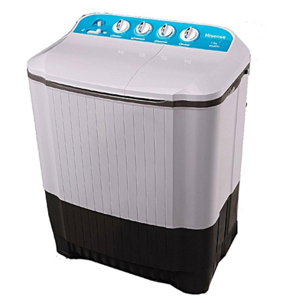 Hisense Twin Tube Washing Dry Spinning Machine 7kg WSJA751