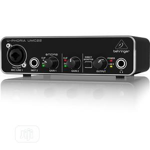 Behringer Umc22 Usb Audio Interface (Soundcard) | Musical Instruments & Gear for sale in Lagos State, Ajah