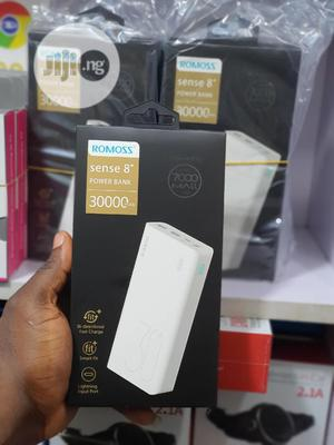 Romoss 30,000mah 18watts Power Bank (Model Sense 8+) | Accessories for Mobile Phones & Tablets for sale in Lagos State, Ikeja