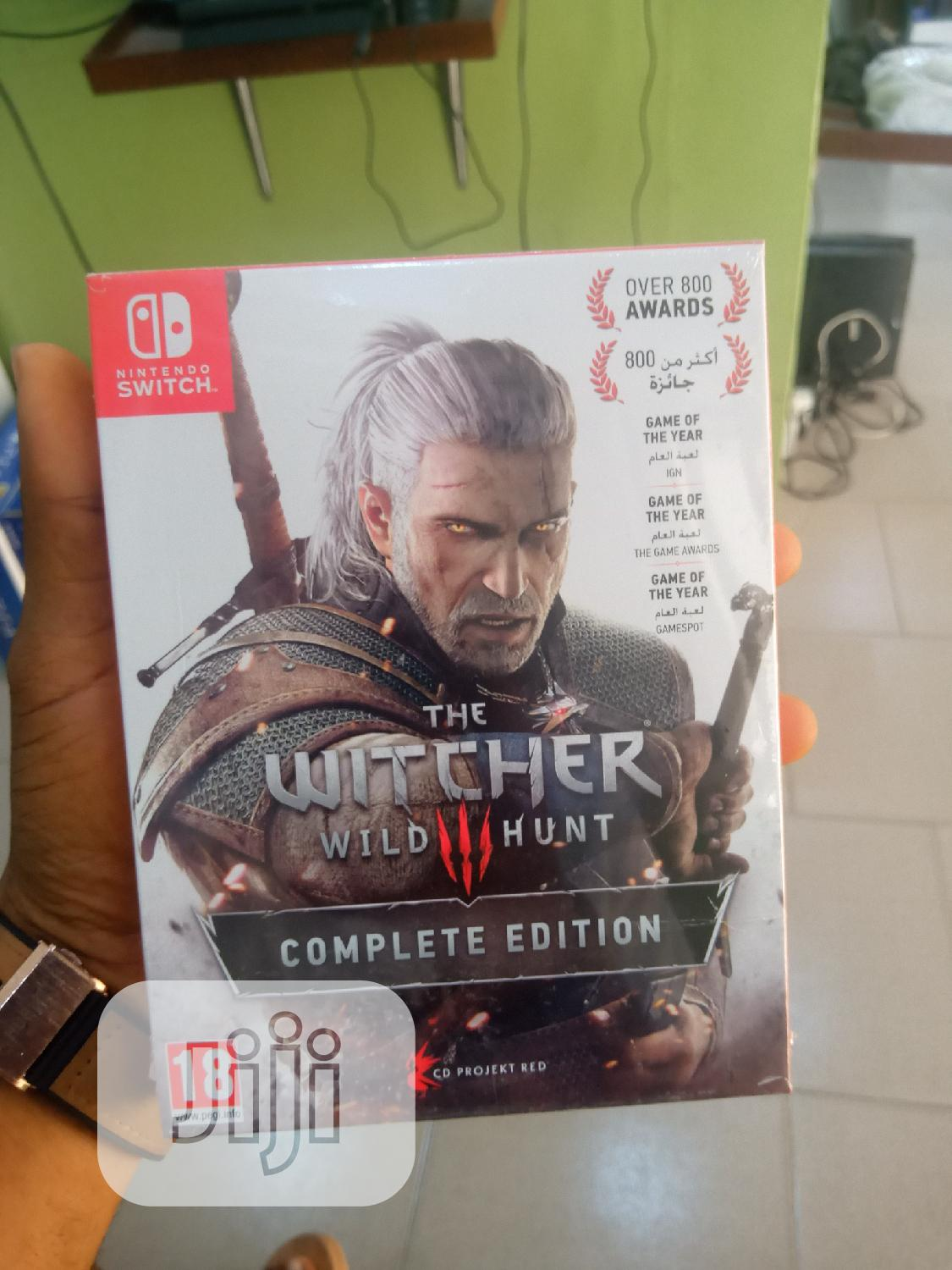 Nintendo Switch Witcher Wild 3 Hunter Complete Edition