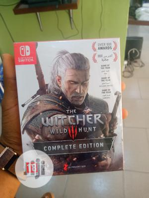 Nintendo Switch Witcher Wild 3 Hunter Complete Edition | Video Games for sale in Lagos State, Ikeja