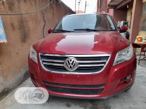 Volkswagen Tiguan 2010 S 4Motion Red   Cars for sale in Lagos State, Oshodi