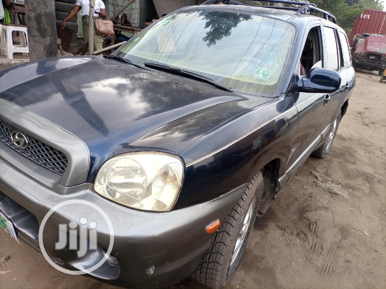 Archive: Hyundai Santa Fe 2005 GLS 3.5 L Black