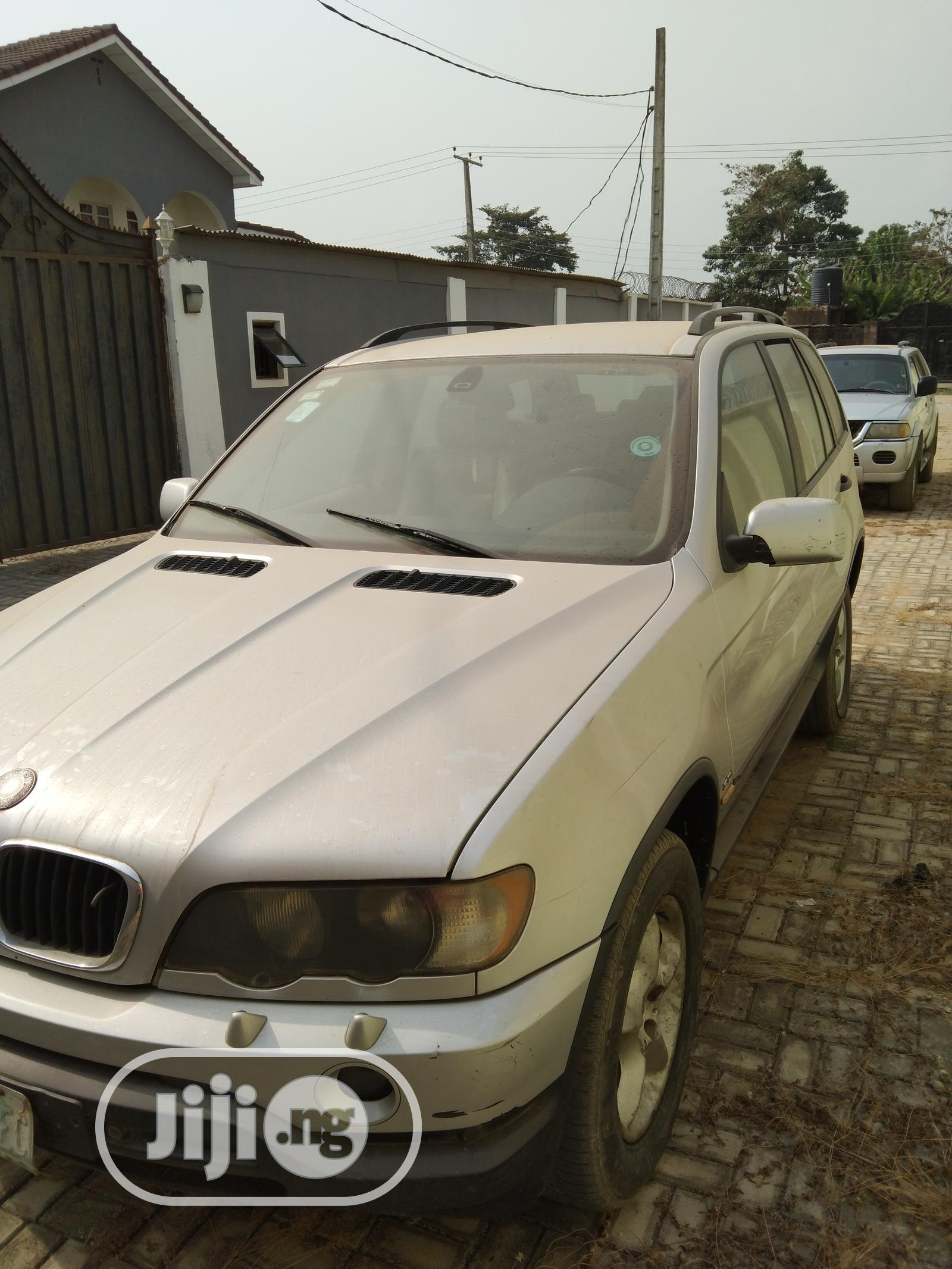 BMW X5 2003 3.0i Silver