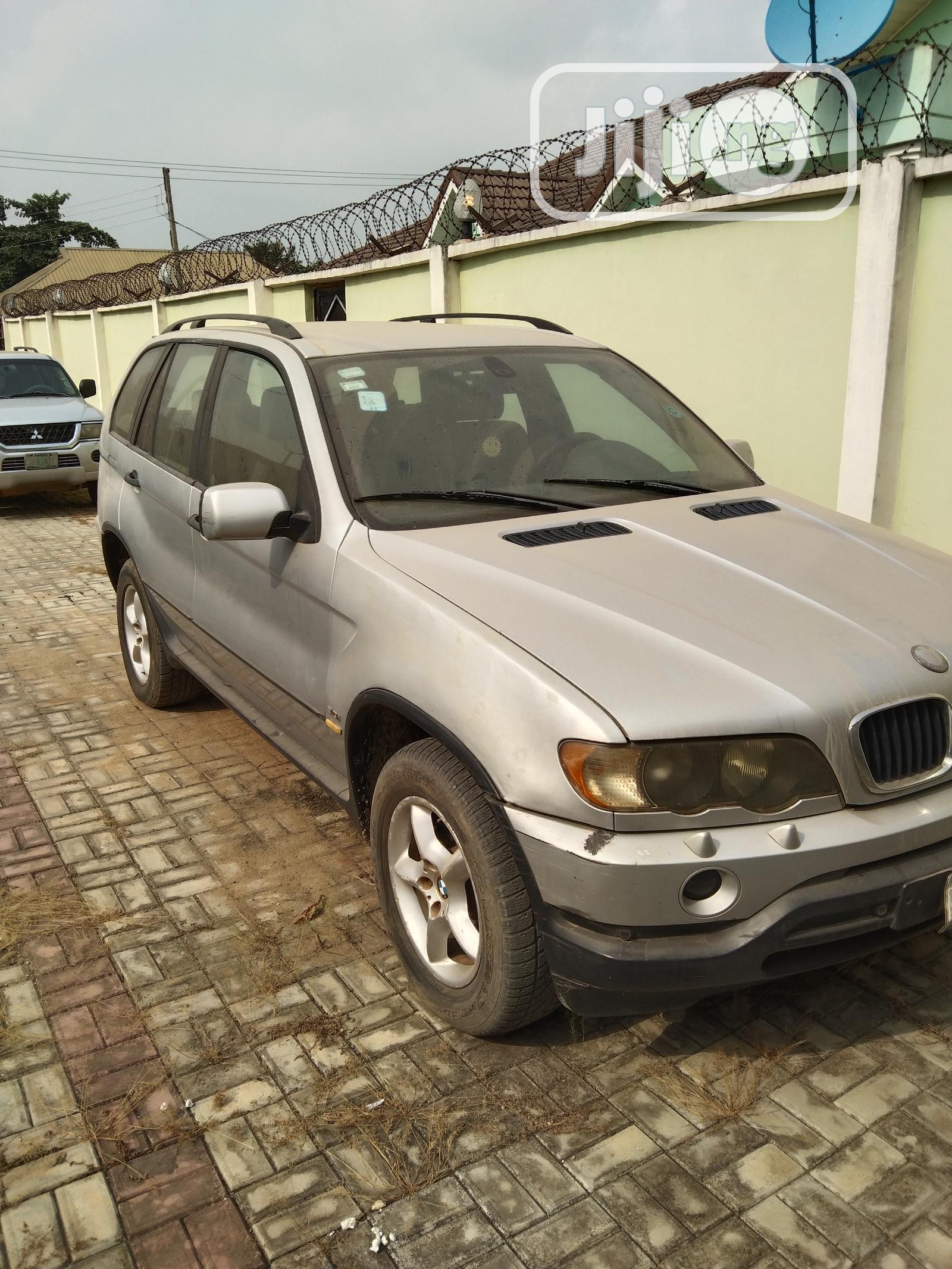 BMW X5 2003 3.0i Silver   Cars for sale in Ikorodu, Lagos State, Nigeria