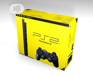 PS2 Slim Console + 2 Controllers + 15 Downloaded Games   Video Game Consoles for sale in Lagos State, Ojo