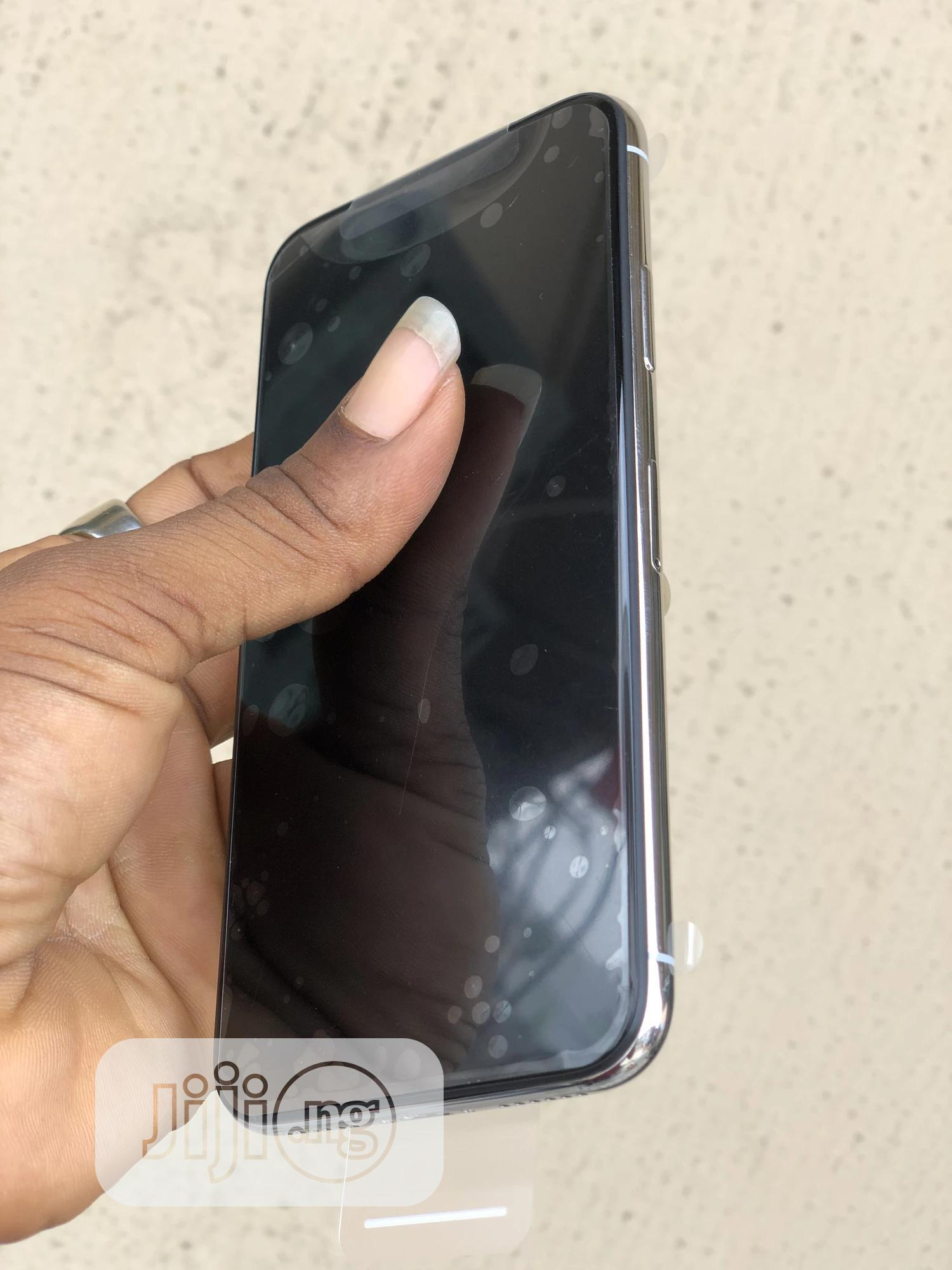 Apple iPhone X 64 GB Silver   Mobile Phones for sale in Ikeja, Lagos State, Nigeria