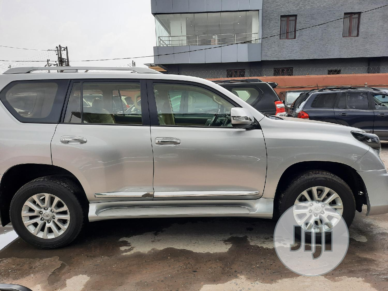 Toyota Land Cruiser Prado 2018 GXR Silver   Cars for sale in Amuwo-Odofin, Lagos State, Nigeria