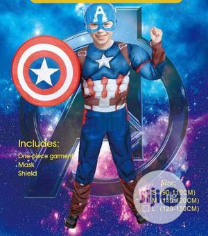 Latest Edition Caption America Costume | Children's Clothing for sale in Lagos State, Lagos Island (Eko)