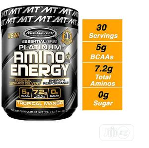 Muscle Tech Platinum Amino Plus Energy BCAA Powder Mango,11.   Vitamins & Supplements for sale in Lagos State, Amuwo-Odofin