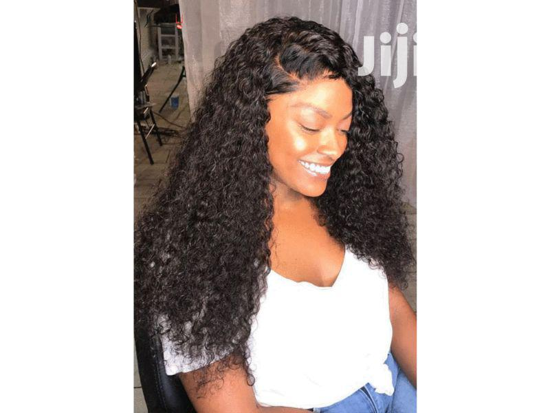 Archive: Premium 100% Curly Human Hair With Closure
