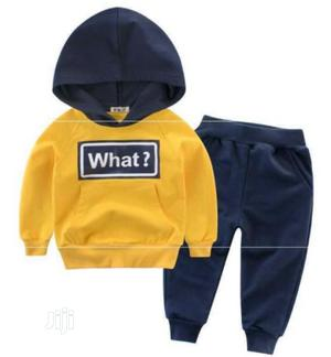 Hoodie 2 Piece Clothing Set | Children's Clothing for sale in Lagos State, Ajah
