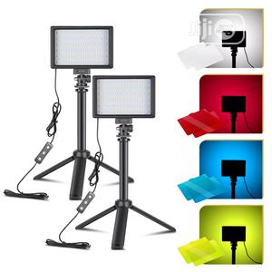 66 Led Light Stand With 4 Filters | Stage Lighting & Effects for sale in Lagos State, Ikeja