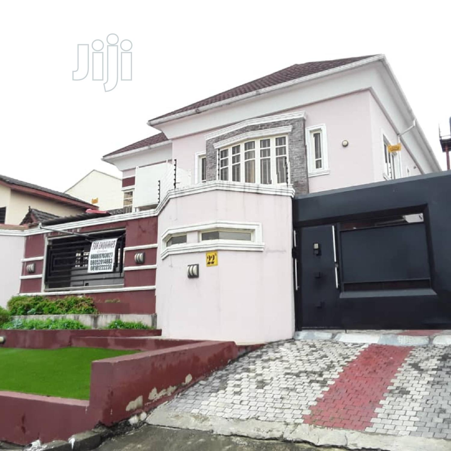 A New 5 Bedroom Detached House With Bq at Magodo for Sale