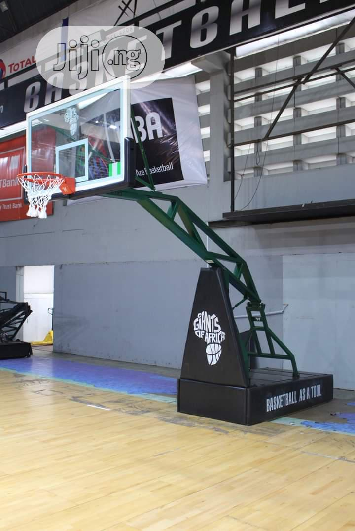 Archive: Standard Professional Basketball Stand