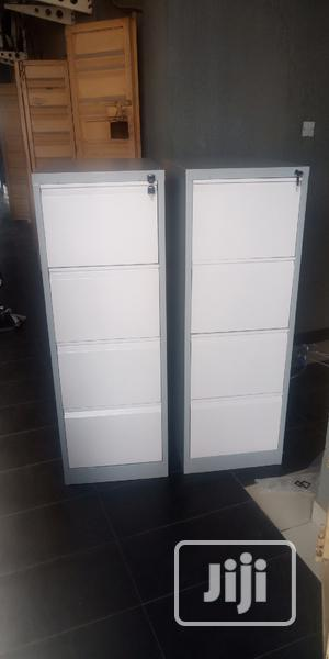 Imported High Quality Metal 4 Drawer Cabinet | Furniture for sale in Edo State, Benin City