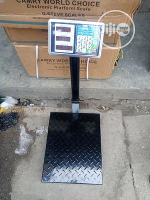 300kg Camry Digital Industrial Platform Scale | Store Equipment for sale in Lagos State, Lagos Island (Eko)