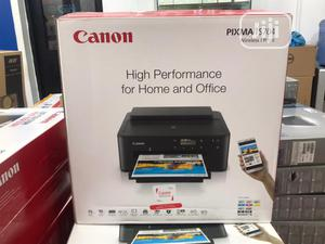 Canon Pixma Ts704 Wireless Photo CD, ID Card A4 Printer | Printers & Scanners for sale in Lagos State, Ikeja