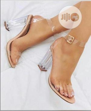 Ladies Transparent Heels Sandals | Shoes for sale in Lagos State, Lagos Island (Eko)