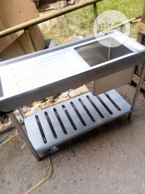 High Qulite Washing Sink Single Bowl With Side | Restaurant & Catering Equipment for sale in Lagos State, Ojo