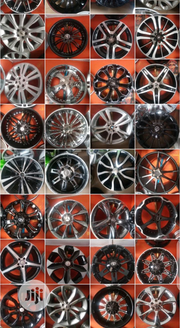 Home of Alloy Rims and Tyres | Vehicle Parts & Accessories for sale in Mushin, Lagos State, Nigeria