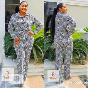 New Ladies Quality Striped 2 Piece Trouser and Top | Clothing for sale in Lagos State, Ikeja