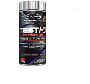 Muscletech Test HD,Thermotestosterone Booster,90 Capsules   Vitamins & Supplements for sale in Lagos State, Amuwo-Odofin