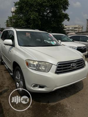 Toyota Highlander 2008 Limited White | Cars for sale in Lagos State, Amuwo-Odofin