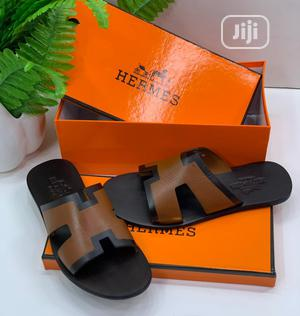 High Quality Hermes Slippers for Men | Shoes for sale in Lagos State, Magodo