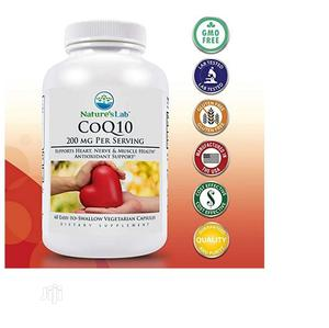 Nature's Lab Coq10 200 Mg 60 Caps Supports Heart Nerve Mus   Vitamins & Supplements for sale in Lagos State, Amuwo-Odofin