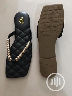 Designer Ladies Palm Slippers   Shoes for sale in Lagos State, Lagos Island (Eko)