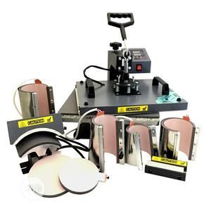 8 in 1 Sublimation Heat Press Transfer Machine | Printing Equipment for sale in Lagos State, Ikeja