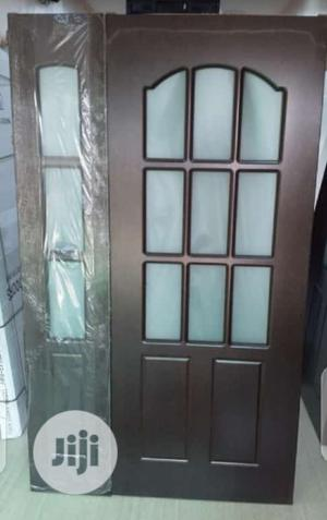 4ft by 7ft Turkey Hdf Wooden With Glass   Doors for sale in Lagos State, Orile