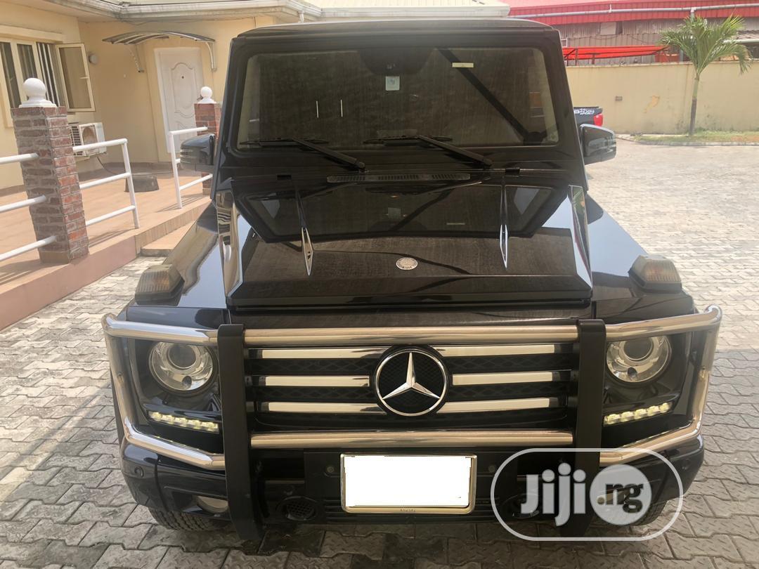 Mercedes-Benz G-Class 2013 Base G 550 AWD Black