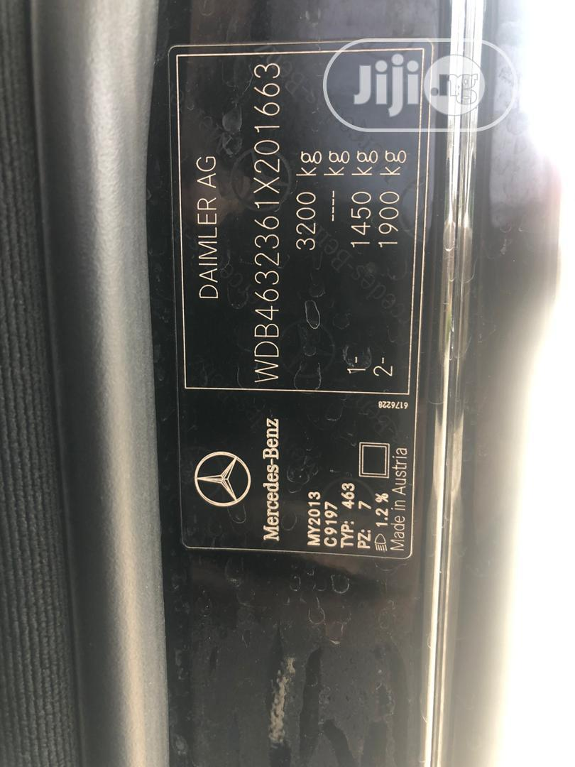 Mercedes-Benz G-Class 2013 Base G 550 AWD Black   Cars for sale in Victoria Island, Lagos State, Nigeria