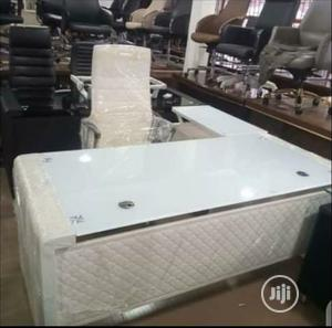 1.8m White Executive Office Table | Furniture for sale in Lagos State, Ikeja