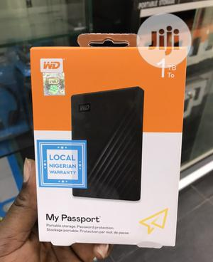 1 TB My Passport Portable Storage With Password Protection | Computer Hardware for sale in Lagos State, Ikeja