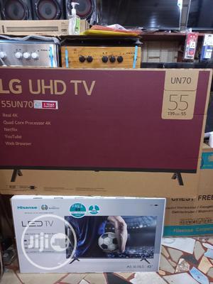 LG 55 Inches Uhd Smart TV 4K Model 55un7000 | TV & DVD Equipment for sale in Lagos State, Ifako-Ijaiye