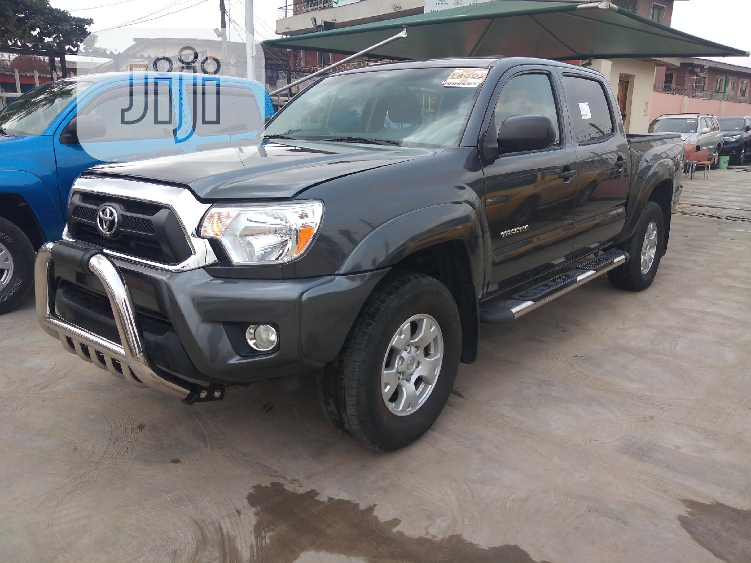 Toyota Tacoma 2012 Double Cab V6 Automatic Gray   Cars for sale in Ikeja, Lagos State, Nigeria