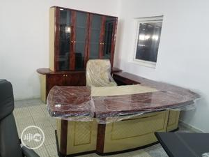 Quality Executive Office Table With Bookshelves and Chair   Furniture for sale in Abuja (FCT) State, Wuse