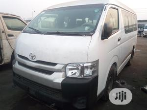 Toyota Hiace Hummer Bus 2010 White | Buses & Microbuses for sale in Lagos State, Ikeja