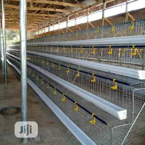 Galvanized Battery Cage for Layers (Best Quality)   Farm Machinery & Equipment for sale in Abuja (FCT) State, Dei-Dei