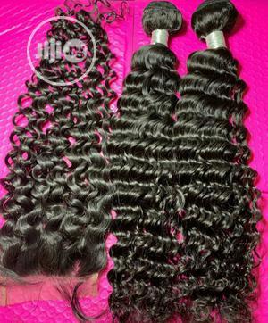 Dera Deep Wavy Virgin Hair.   Hair Beauty for sale in Lagos State, Ikeja