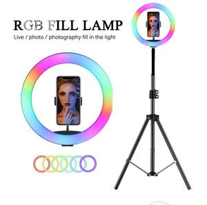 RGB 12 Inches Ring Light With Stand Coloured Light | Accessories & Supplies for Electronics for sale in Lagos State, Ikeja